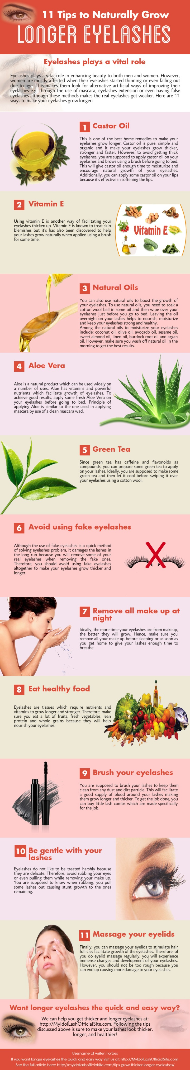 11 Tips to grow thicker and longer eyelashes