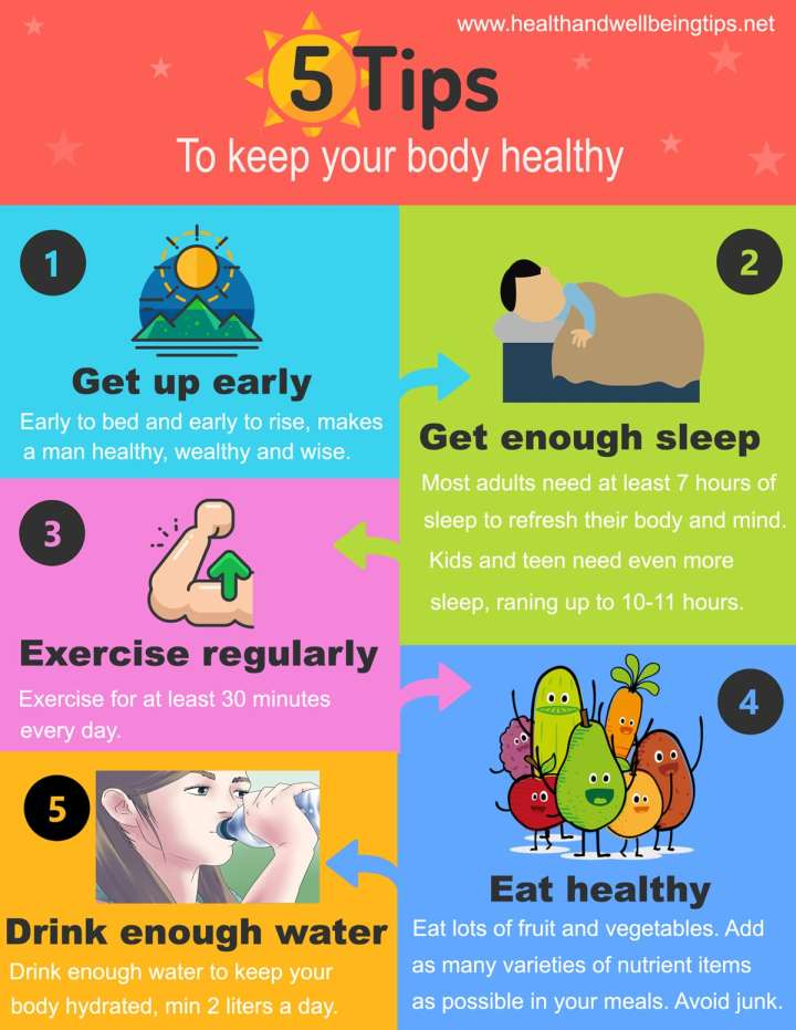 5 Tips to Keep Your Body Healthy